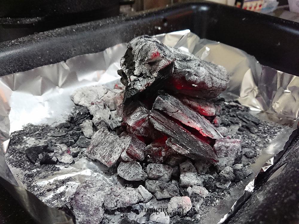キャンプや家で炭火を使った時の消火方法とリサイクル方法